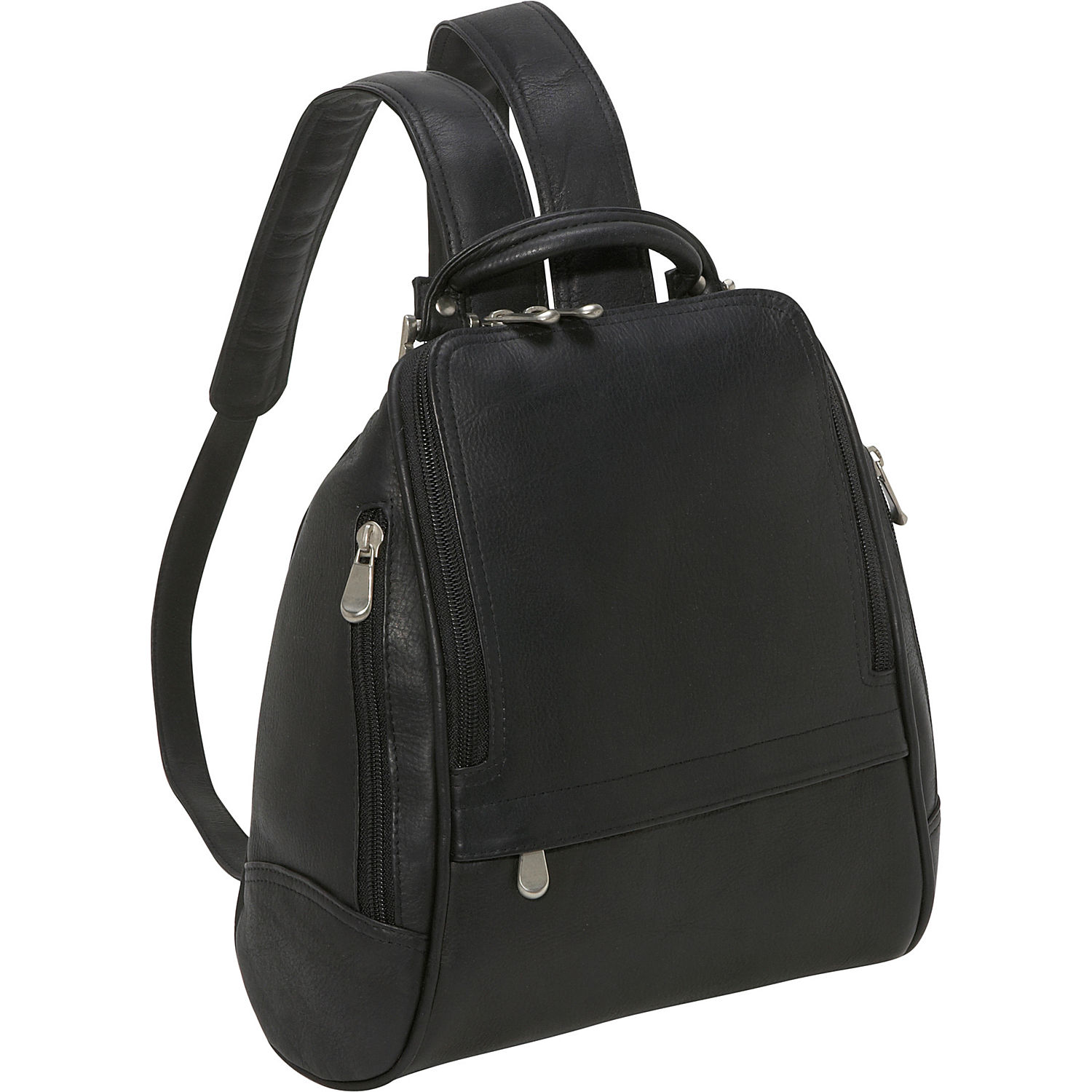 Backpacks are back! Shop on-trend designer leather backpacks by Brahmin in a variety of sizes, colors, and styles to carry your essentials on the go. Perfect for travel or daily use, stow your laptop, wallet, & everyday items conveniently in these spacious, genuine leather backpacks that are quality-constructed to last.