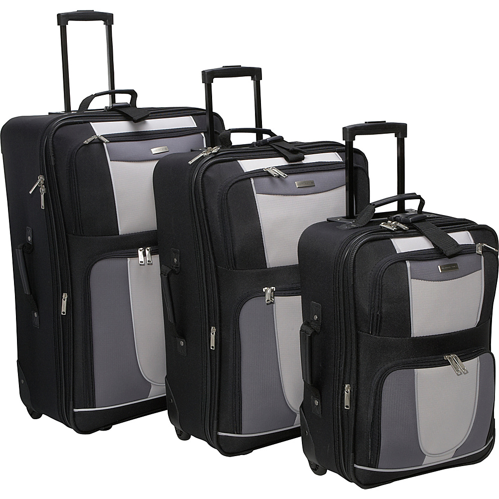 Geoffrey Beene Luggage 3 Piece Carnegie Luggage Set