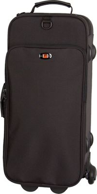 Protec iPac Double Trumpet Case with Wheels - Black