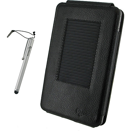 rooCASE MV Series Leather Case w/ Stylus for B&N Nook