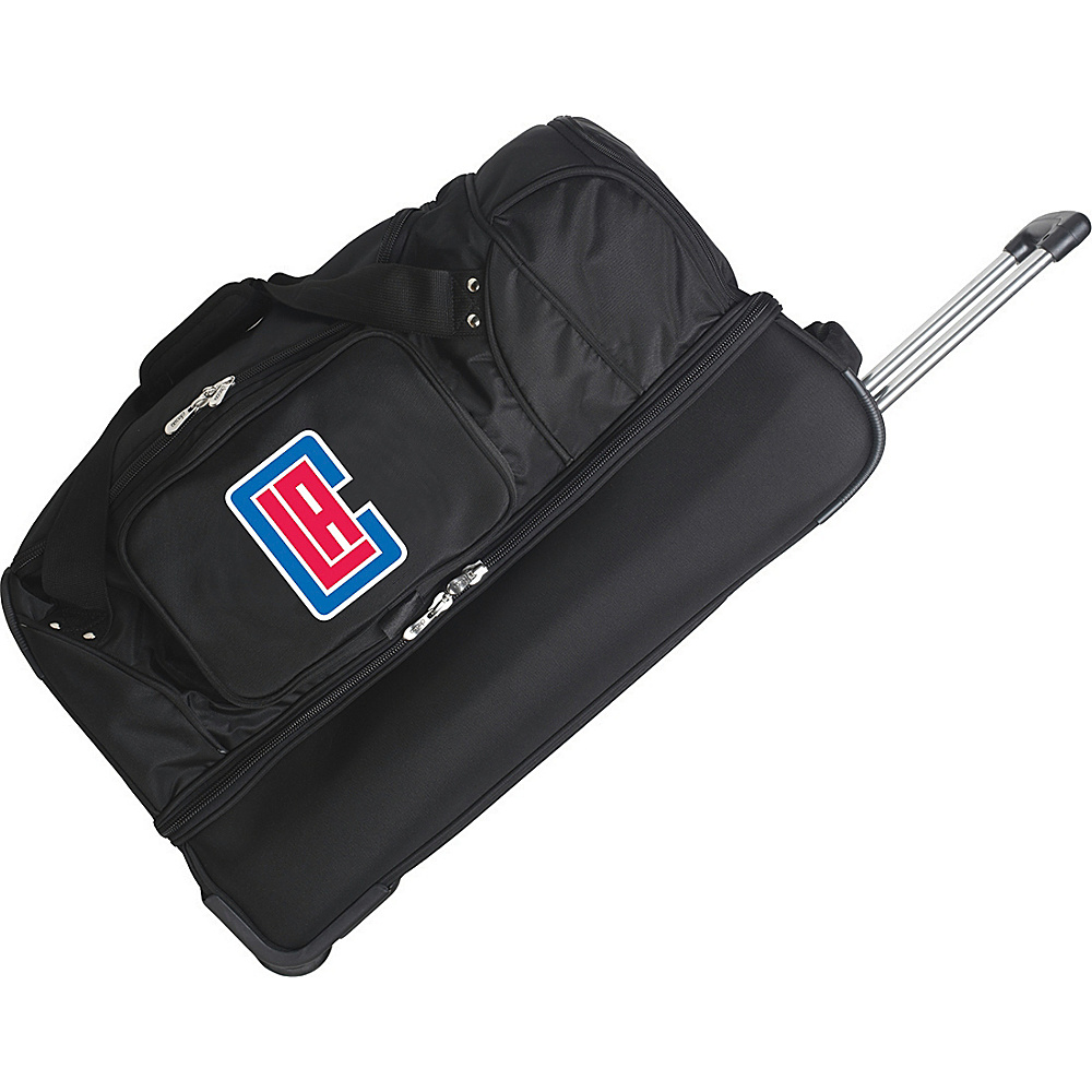 Denco Sports Luggage Los Angeles Clippers 27 Rolling - Luggage, Rolling Duffels