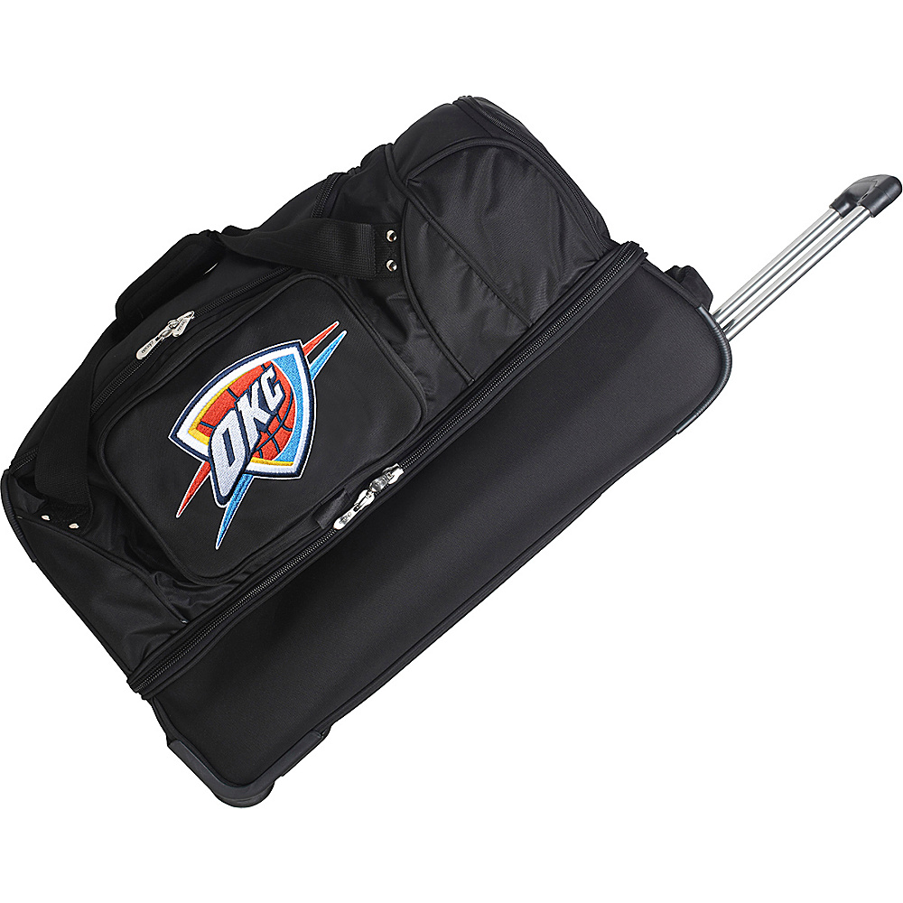 Denco Sports Luggage Oklahoma City Thunder 27 Rolling - Luggage, Rolling Duffels