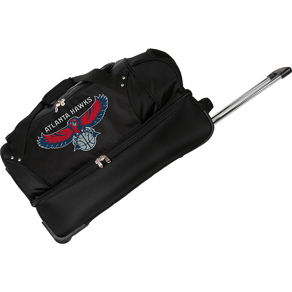 Denco Sports Luggage Atlanta Hawks 27 Rolling Drop - Luggage, Rolling Duffels