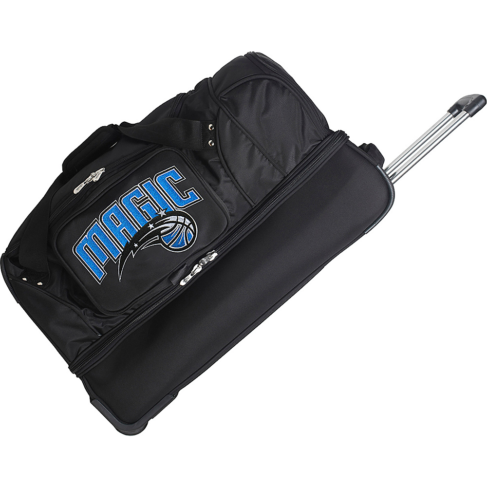 Denco Sports Luggage Orlando Magic 27 Rolling Drop - Luggage, Rolling Duffels