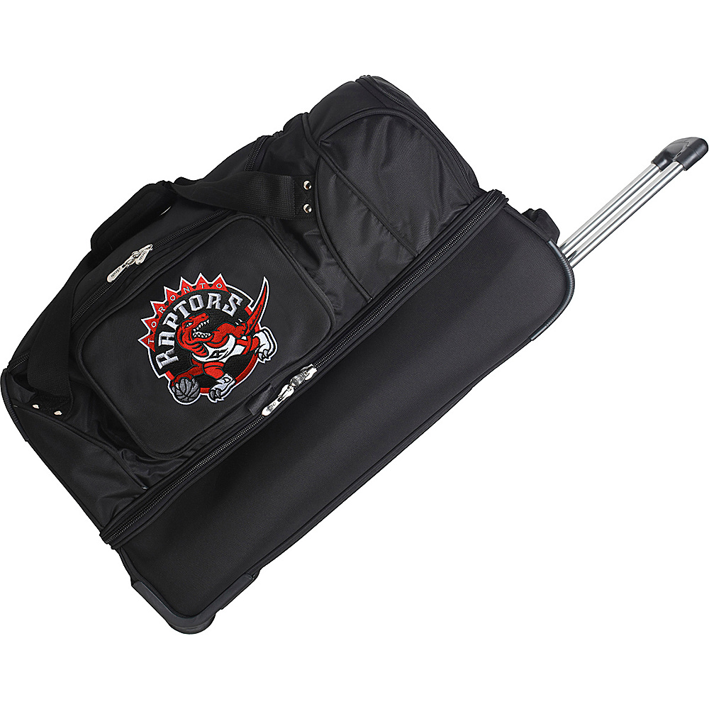 Denco Sports Luggage Toronto Raptors 27 Rolling Drop - Luggage, Rolling Duffels