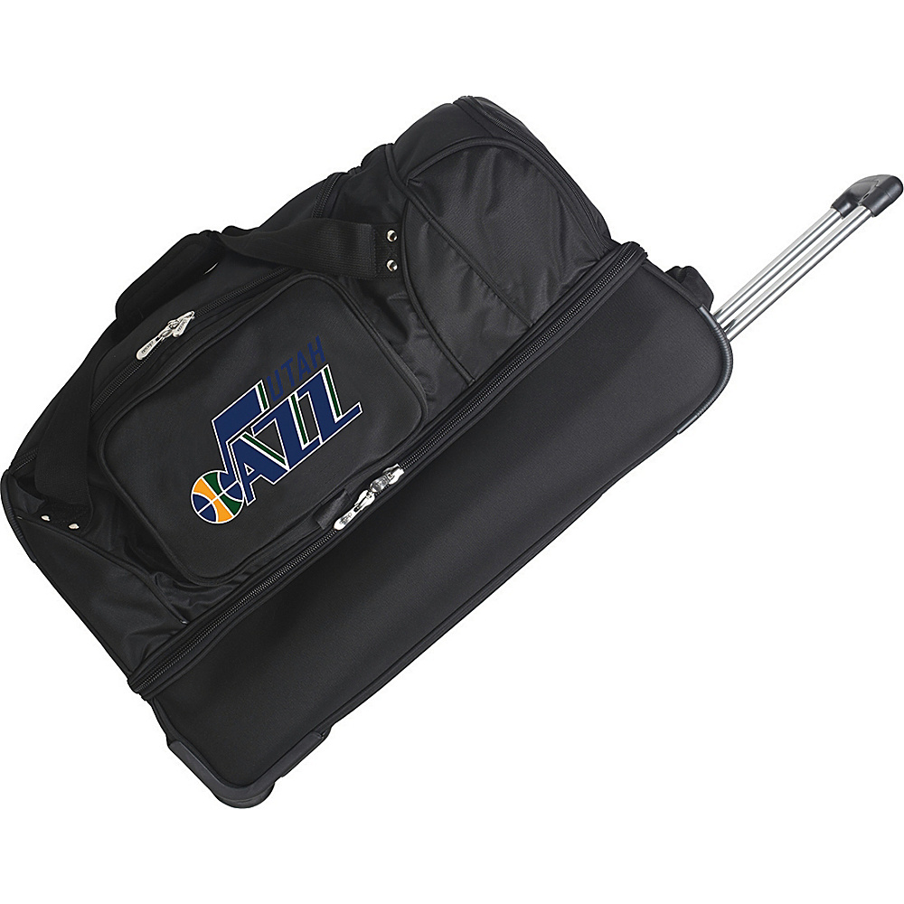 Denco Sports Luggage Utah Jazz 27 Rolling Drop Bottom - Luggage, Rolling Duffels