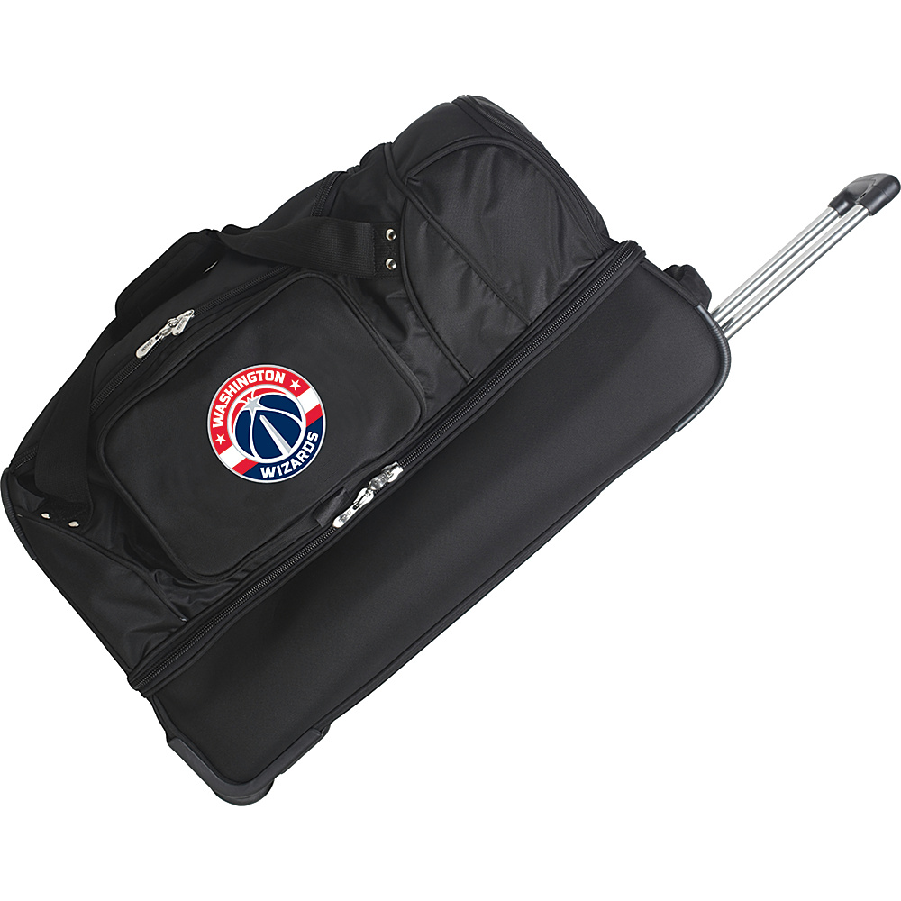 Denco Sports Luggage Washington Wizards 27 Rolling - Luggage, Rolling Duffels