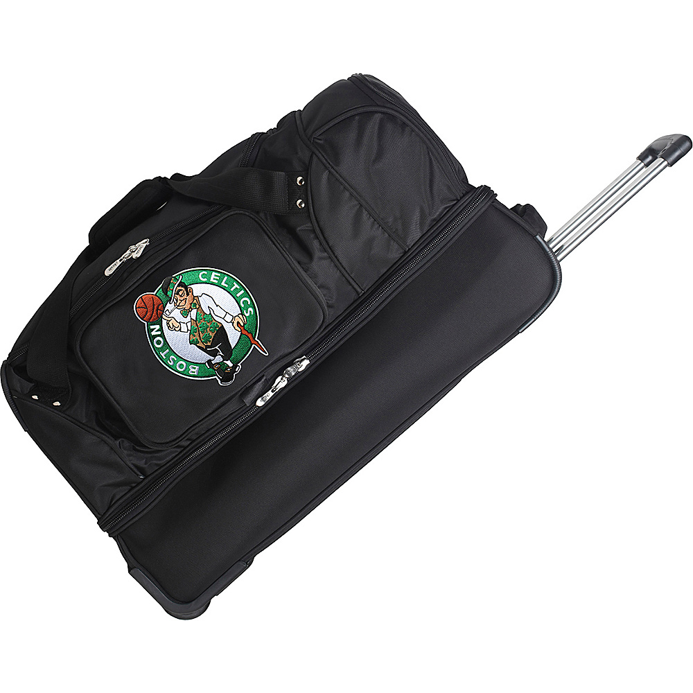 Denco Sports Luggage Boston Celtics 27 Rolling Drop - Luggage, Rolling Duffels