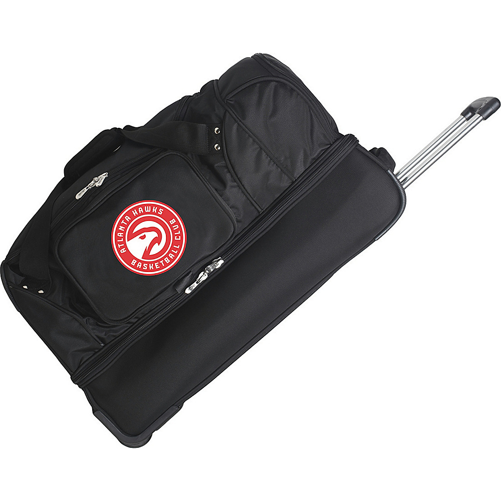 Denco Sports Luggage Atlanta Hawks 27 Rolling Drop - Duffels, Travel Duffels