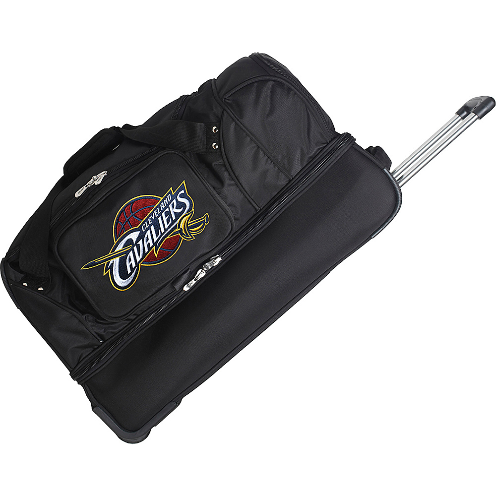Denco Sports Luggage Cleveland Cavaliers 27 Rolling - Duffels, Travel Duffels