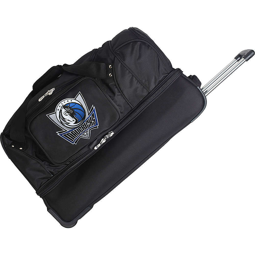 Denco Sports Luggage Dallas Mavericks 27 Rolling Drop - Luggage, Rolling Duffels
