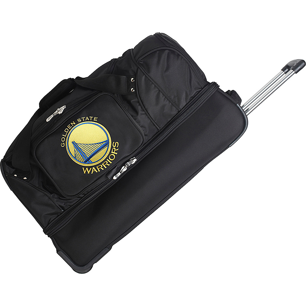 Denco Sports Luggage Golden State Warriors 27 Rolling - Luggage, Rolling Duffels