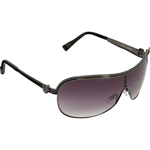 Vince Camuto Eyewear Metal Epoxy Shield Sunglasses