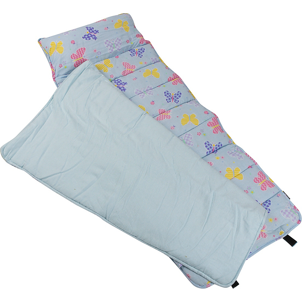 Wildkin Olive Kids Butterfly Garden Nap Mat - Butterfly - Travel Accessories, Travel Pillows & Blankets
