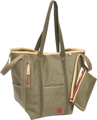 Clava Carina Two-Face Tote - Army