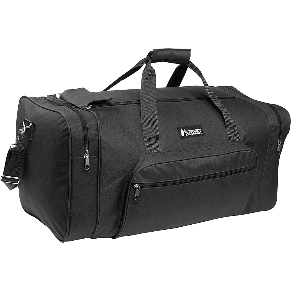 Everest 25 Medium Classic Gear Bag - Black - Duffels, Travel Duffels