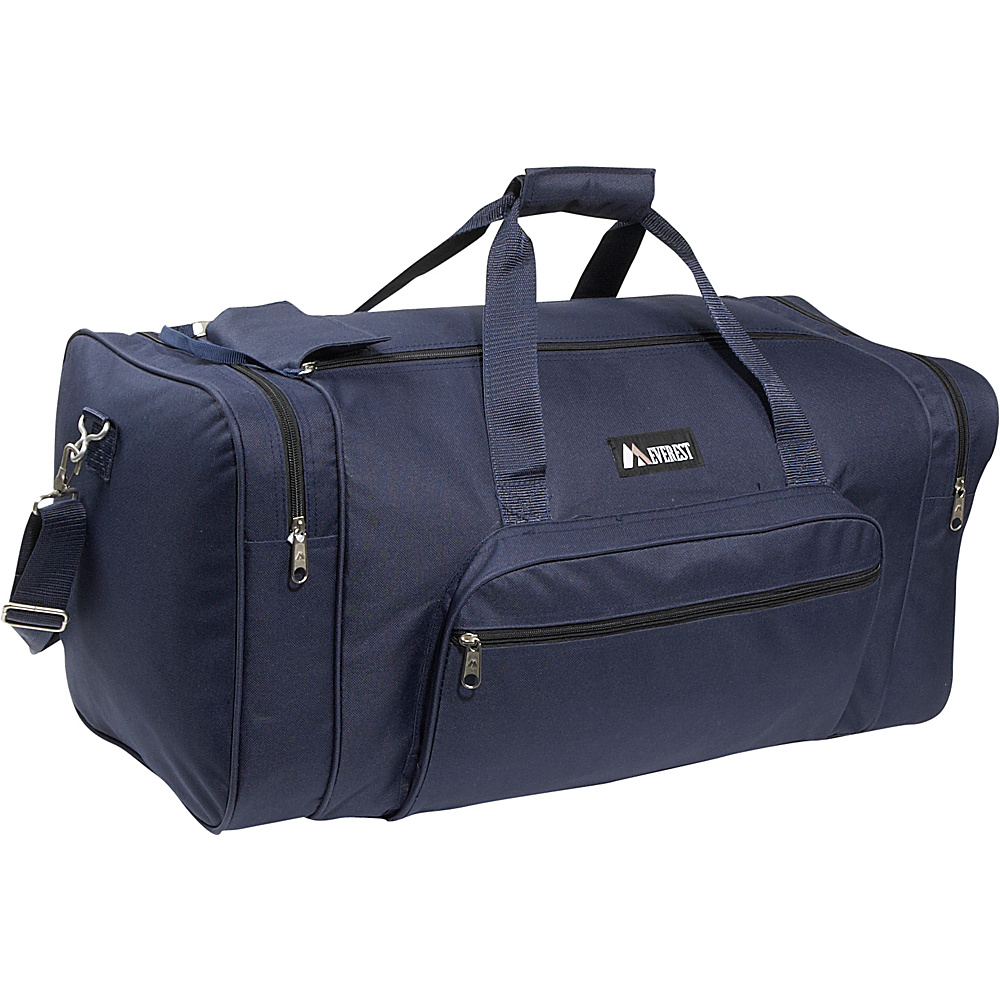 Everest 25 Medium Classic Gear Bag - Navy - Duffels, Travel Duffels