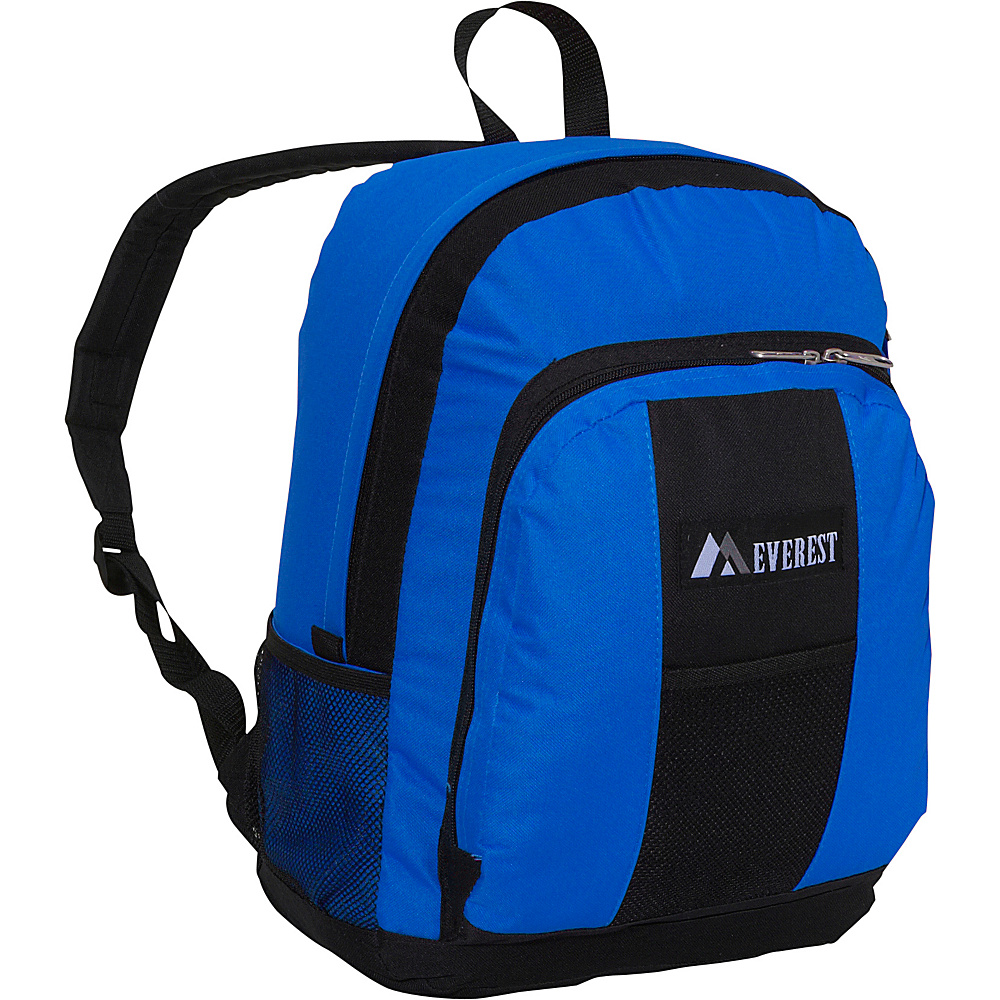 Everest Backpack with Front & Side Pockets - Royal - Backpacks, Everyday Backpacks