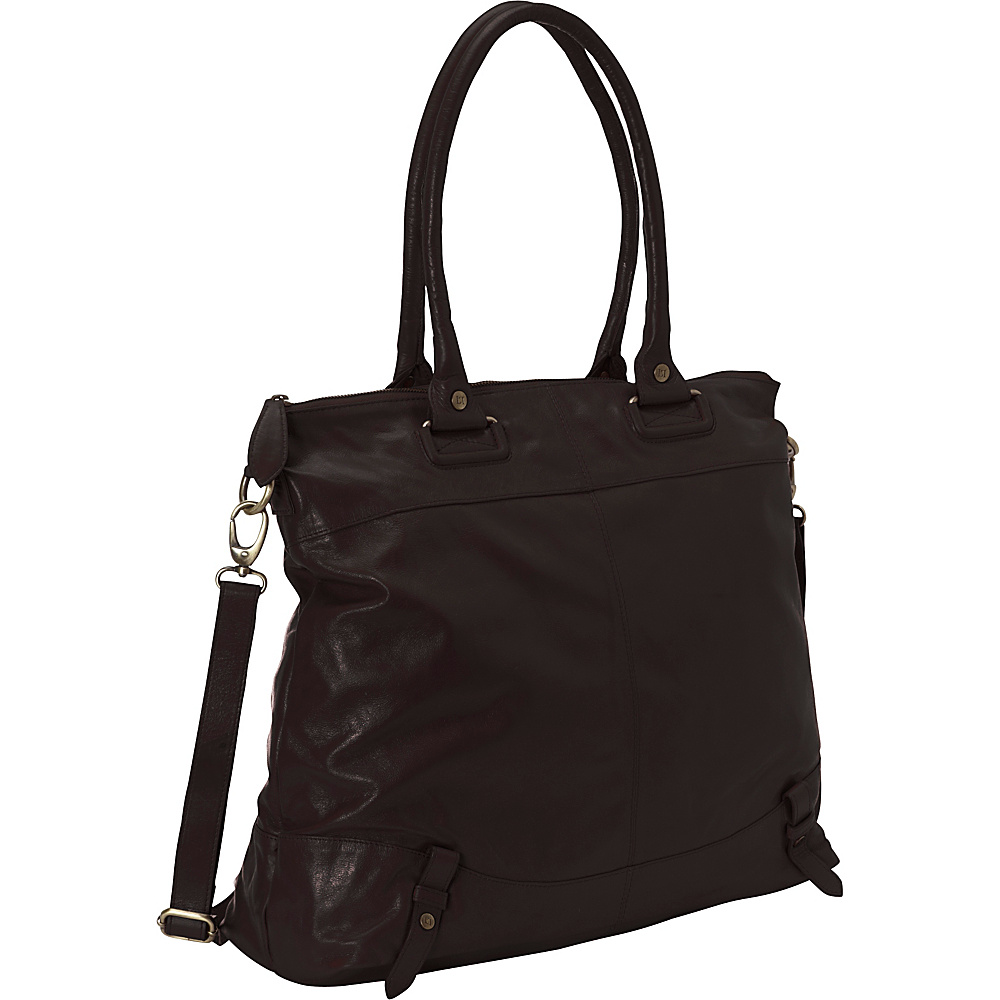 Latico Leathers Pilar Espresso - Latico Leathers Leather Handbags - Handbags, Leather Handbags