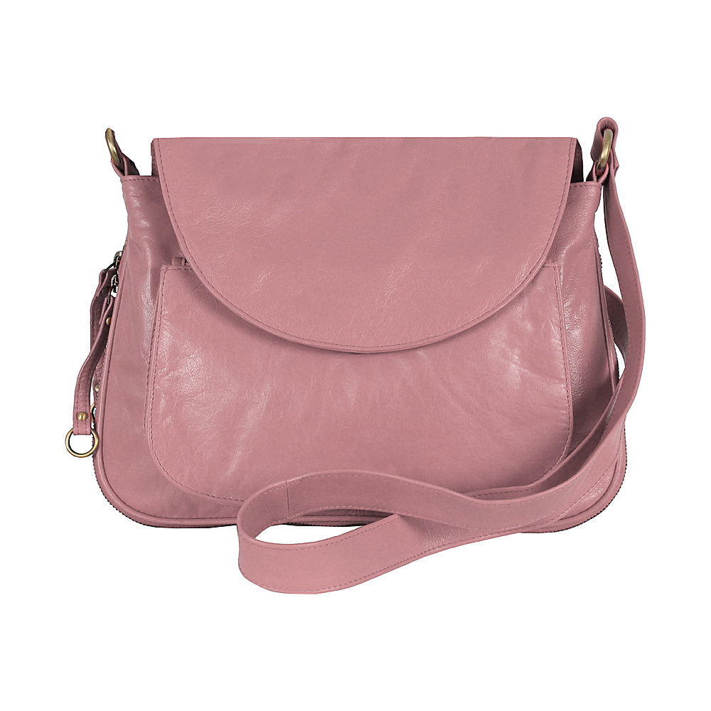 Latico Leathers Mitzi Pink - Latico Leathers Leather Handbags - Handbags, Leather Handbags