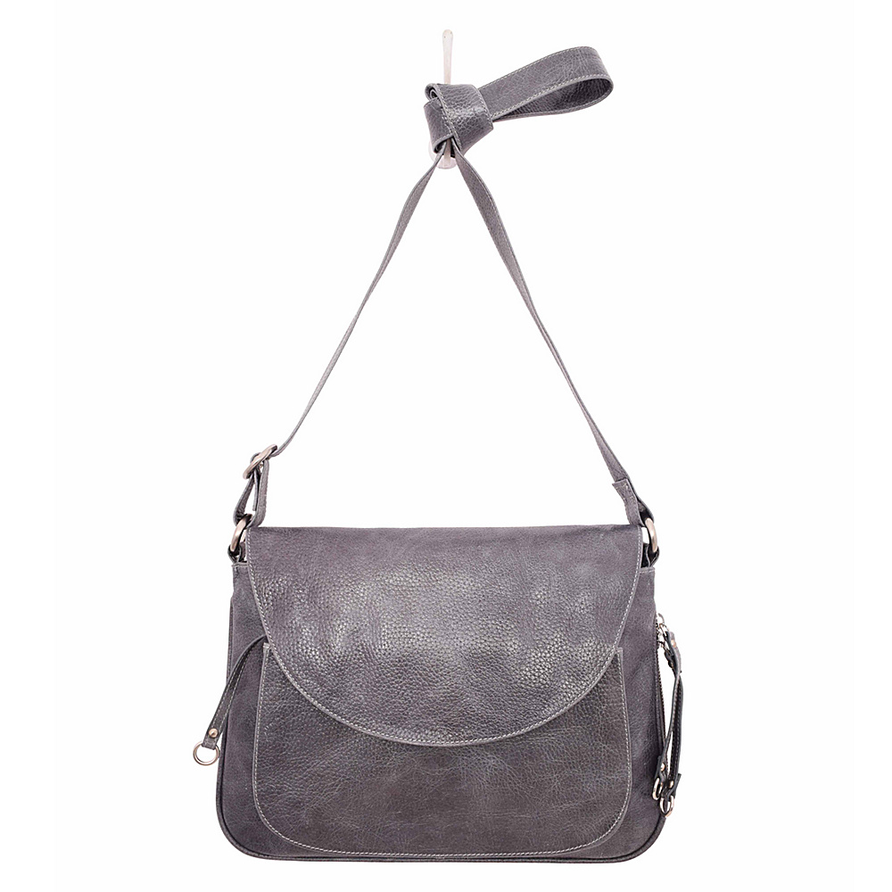 Latico Leathers Mitzi Pebble Denim - Latico Leathers Leather Handbags - Handbags, Leather Handbags