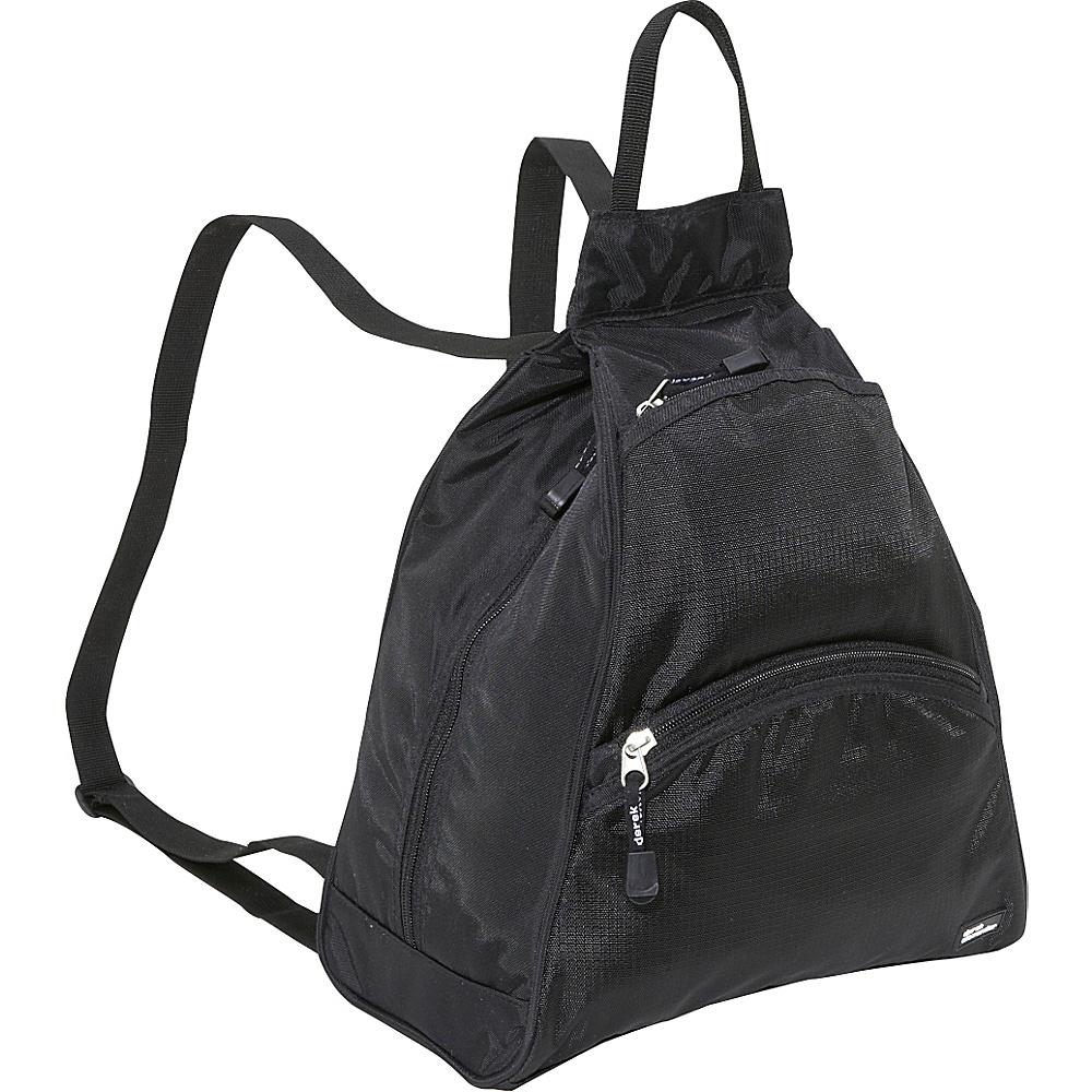 Derek Alexander Small Tear Drop Bike Pack Black/Black - Derek Alexander Manmade Handbags - Handbags, Manmade Handbags