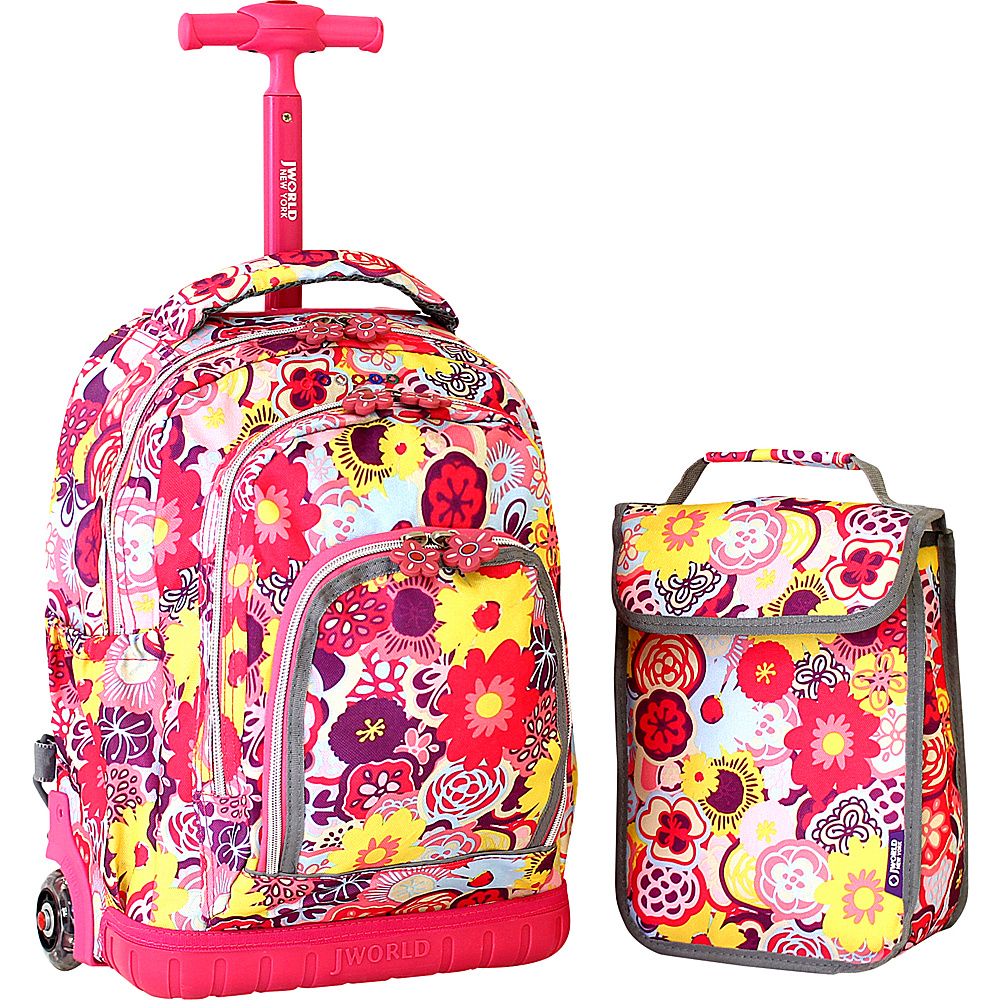j world new york lollipop kids rolling backpack with ebay. Black Bedroom Furniture Sets. Home Design Ideas