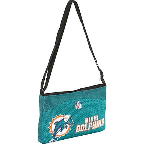 Littlearth NFL Jersey Mini Purse/Miami Dolphins Miami Dolphins - Littlearth Fabric Handbags