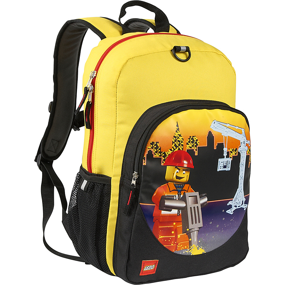 LEGO Construction City Nights Classic Backpack YELLOW