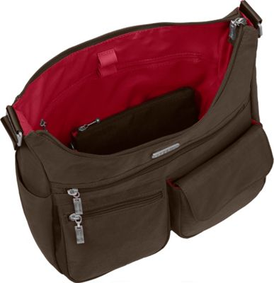 baggallini Everywhere Shoulder Bag with RFID Apple - baggallini Fabric Handbags
