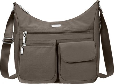 Baggallini Everywhere Shoulder Bag with RFID Portobello -...