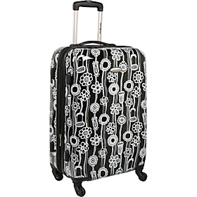 Fashionaire 1 Spinner 24'' Exp Black/White Print
