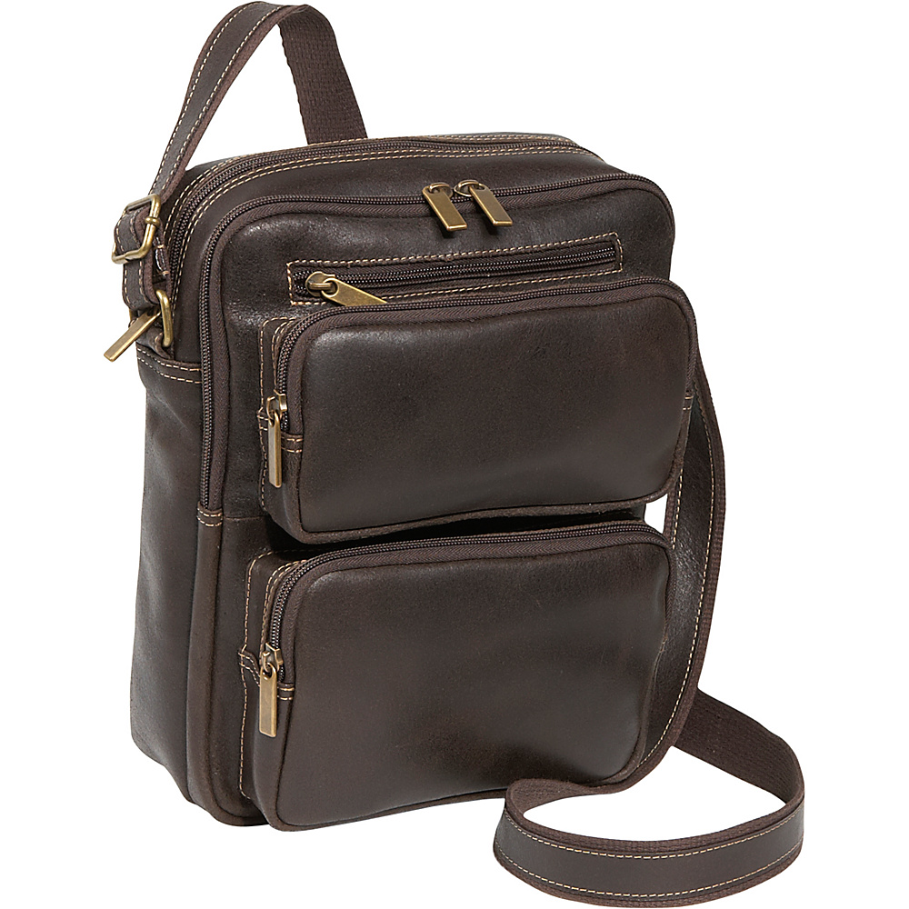 Le Donne Leather Distressed Leather Multi Pocket iPad / - Work Bags & Briefcases, Other Men's Bags