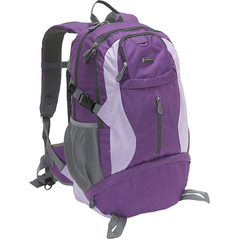 J World Elpaso Backpack - Purple - Backpacks, Everyday Backpacks