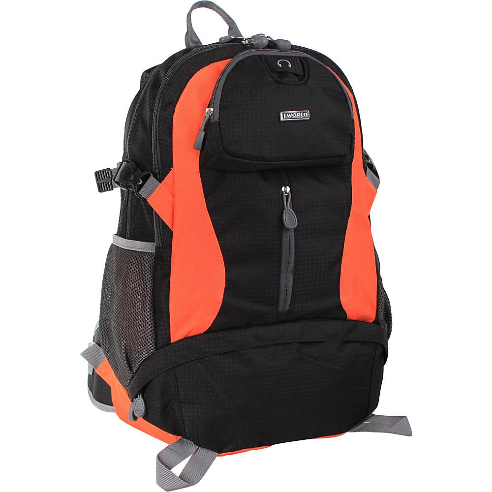 J World New York Elpaso Backpack BK/ORANGE - J World New York Everyday Backpacks - Backpacks, Everyday Backpacks