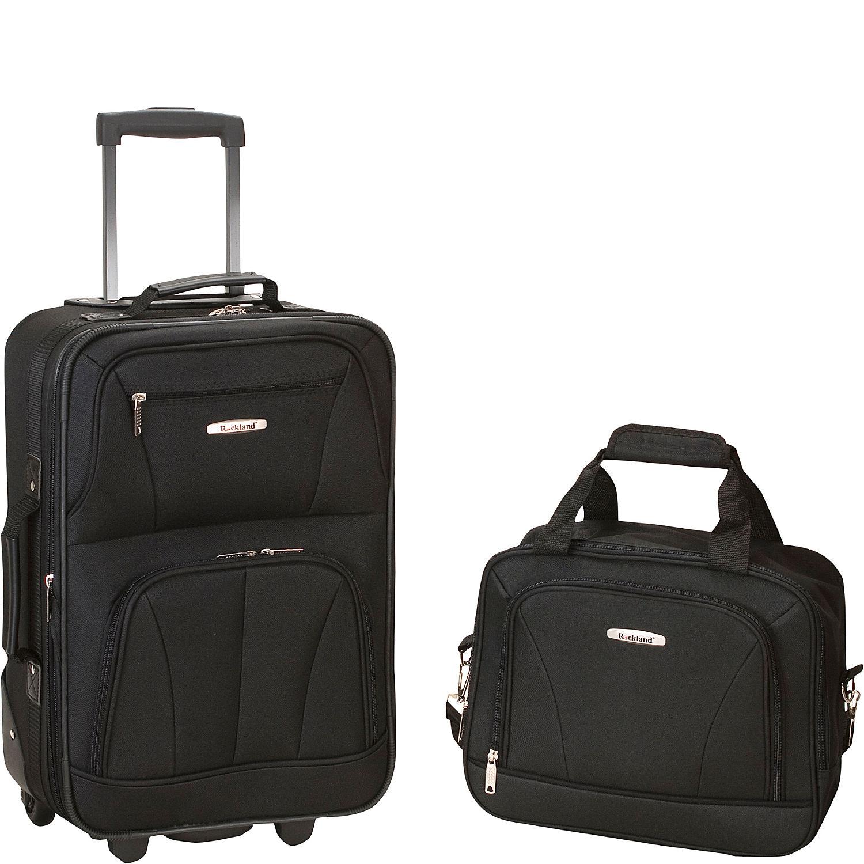 Rockland Luggage Rio 2 Piece Carry On Luggage Set - eBags.com