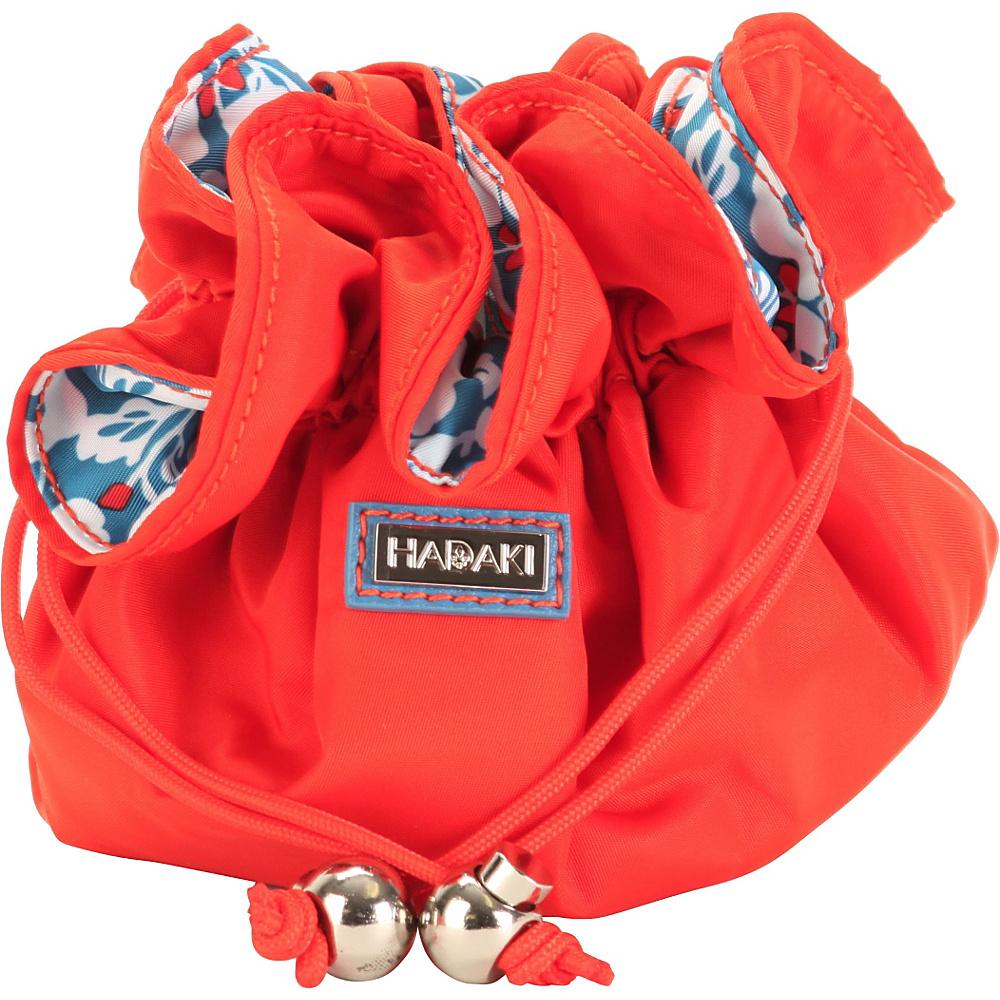 Hadaki Cotton Jewelry Sack Fiery Red Solid - Hadaki Travel Organizers - Travel Accessories, Travel Organizers