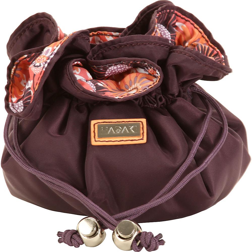 Hadaki Cotton Jewelry Sack Plum Perfect Solid - Hadaki Travel Organizers - Travel Accessories, Travel Organizers