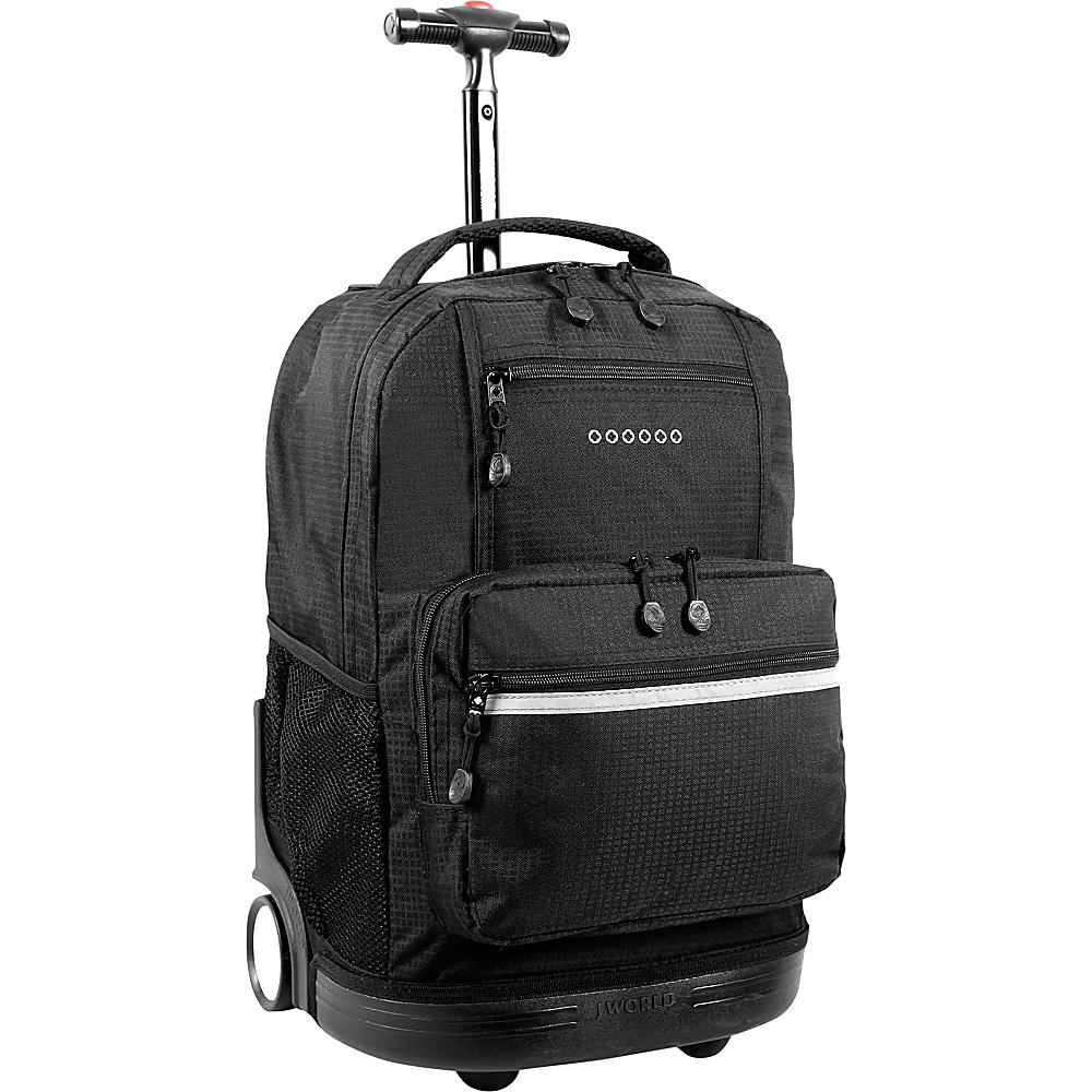 J World Sunset - Black - Backpacks, Rolling Backpacks