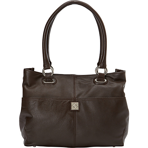 Piazza Bianca Shopper - Chocolate
