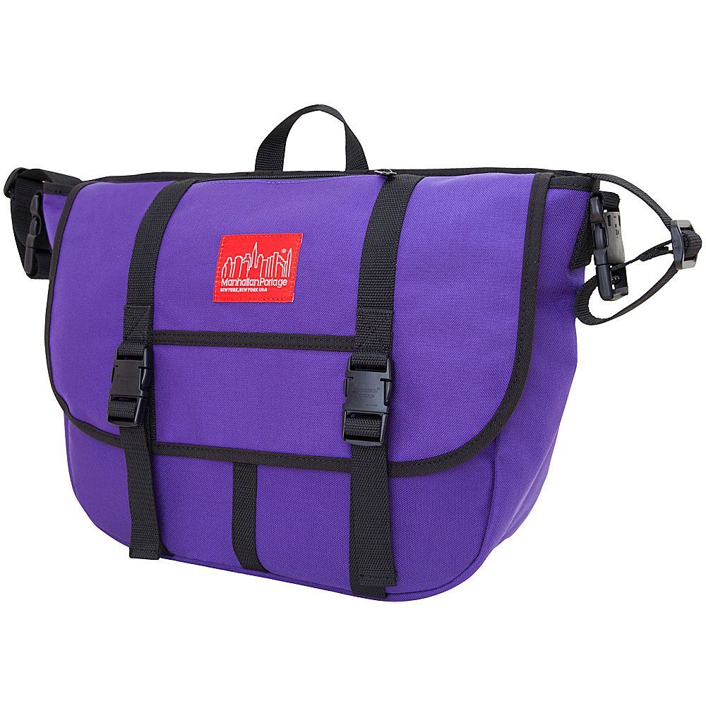 Manhattan Portage Diaper Messenger Bag - Purple - Handbags, Diaper Bags & Accessories