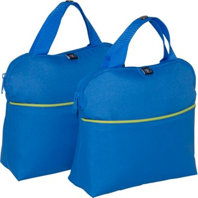 J.L. Childress J.L. Childress MaxiCOOL 4-Bottle Insulated Tote - Set of 2 Blue/Green - J.L. Childress Outdoor Accessories