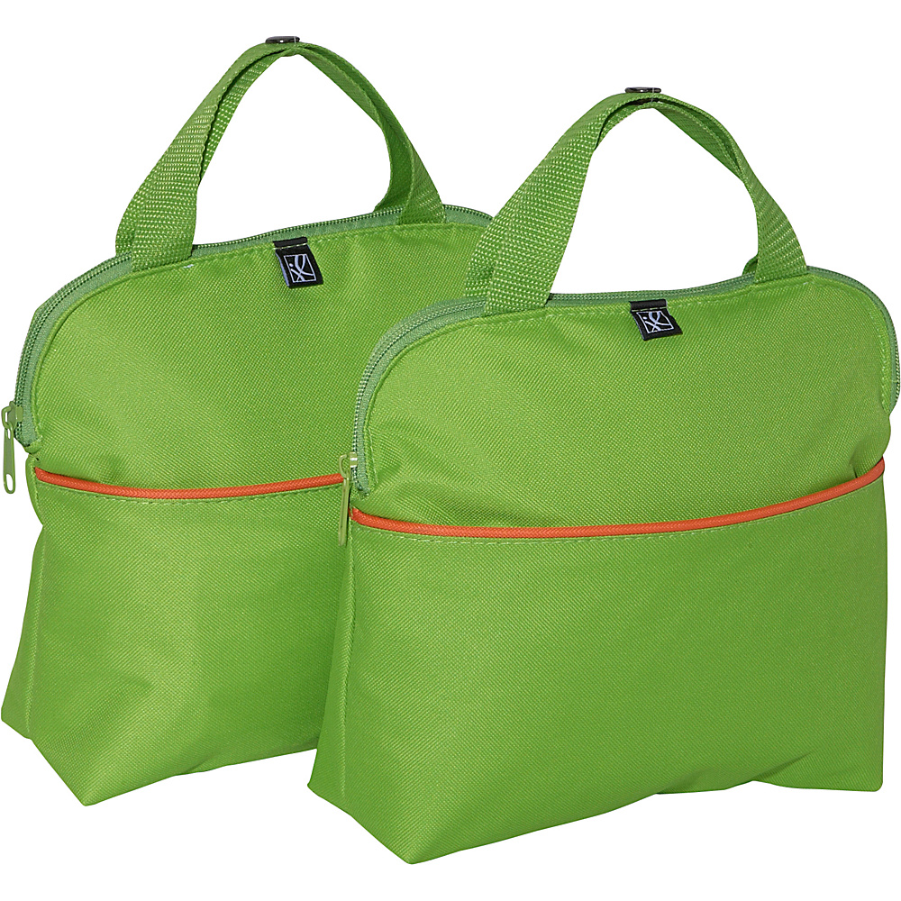 J.L. Childress MaxiCOOL 4-Bottle Insulated Tote - Set