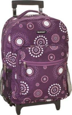 Purple Rolling Backpack WDf3qUNw