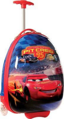 Disney Collection By Heys USA Cars Crew Pit 95 Carry-On