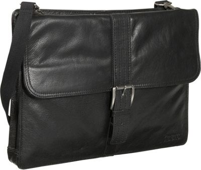 Kenneth Cole Reaction Leather Slim Portfolio - Black