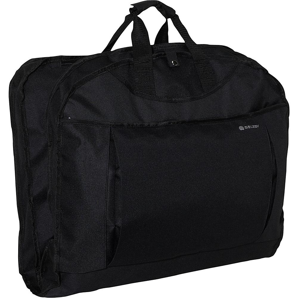 "Delsey Helium 42"" Garment Sleeve Black - Delsey Garment Bags"