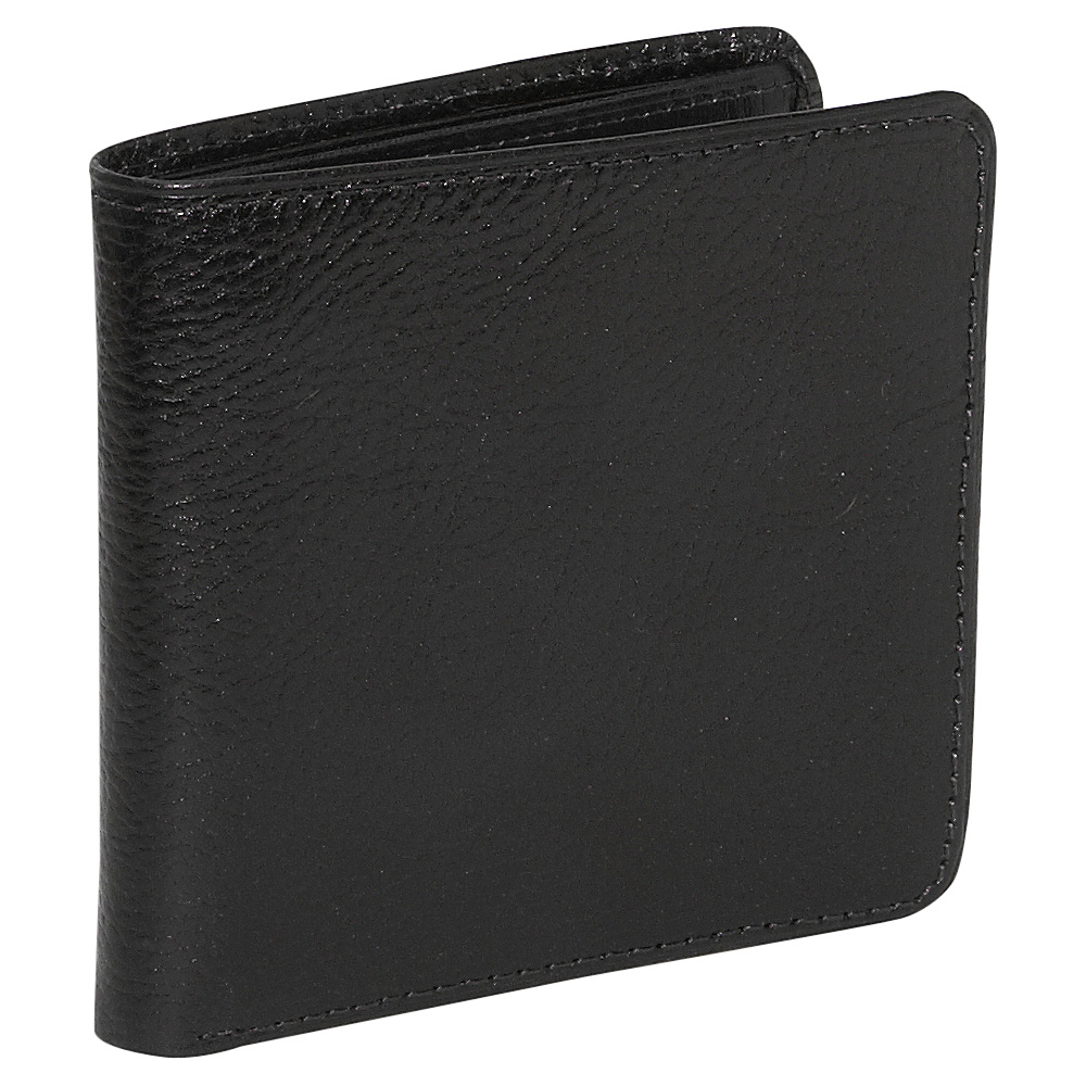 Jack Georges Sienna Collection Hipster Wallet Black - Jack Georges Mens Wallets