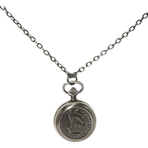 TOKYObay Shilling Locket Pendant - Silver