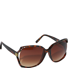 Celebrity Big Lens Fashion Sunglasses BrownLeopard